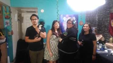 Harry Potter DIY party friends 13