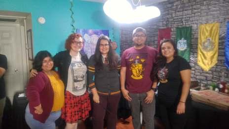 Harry Potter DIY party friends 14
