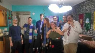 Harry Potter DIY party friends 15