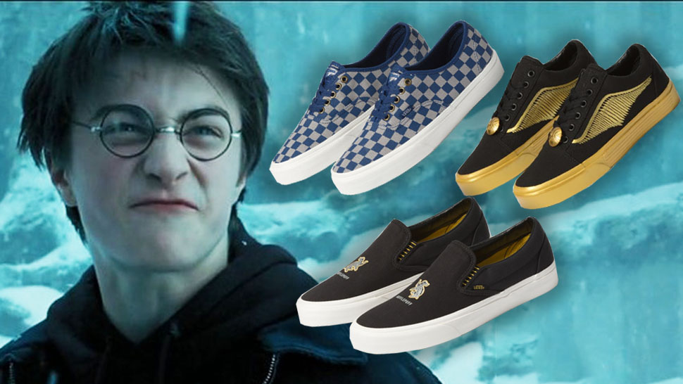 """The Vans X 'Harry Potter' Collection Will Make You Say """"Shut"""